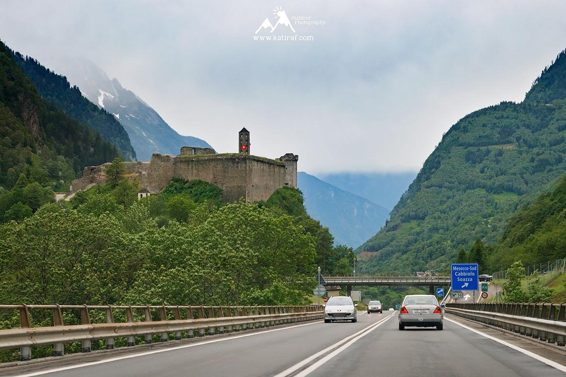 Wąwóz Viamala Schlucht, Szwajcaria www.katiraf.com