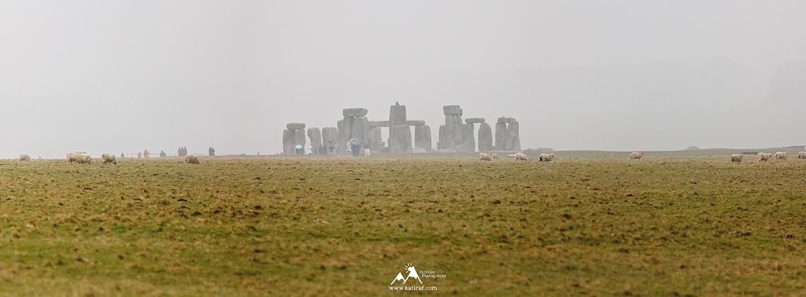 Kamienny krąg Stonehenge, Salisbury, Wiltshire www.katiraf.com
