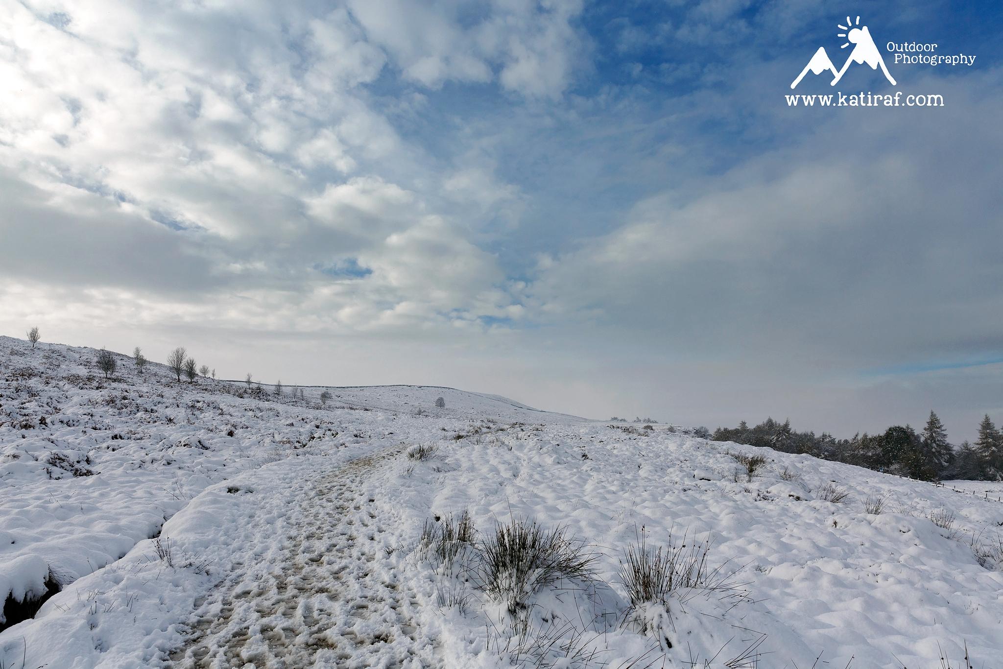 zima w Yorkshire
