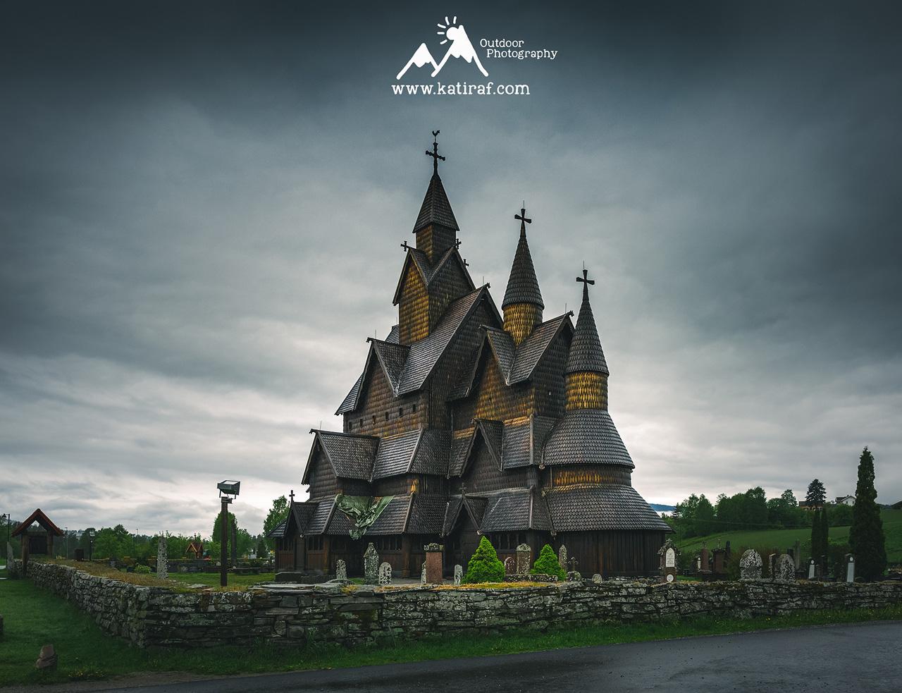 Kościół klepkowy w Heddal, Norwegia (Maj 2016) www.katiraf.com