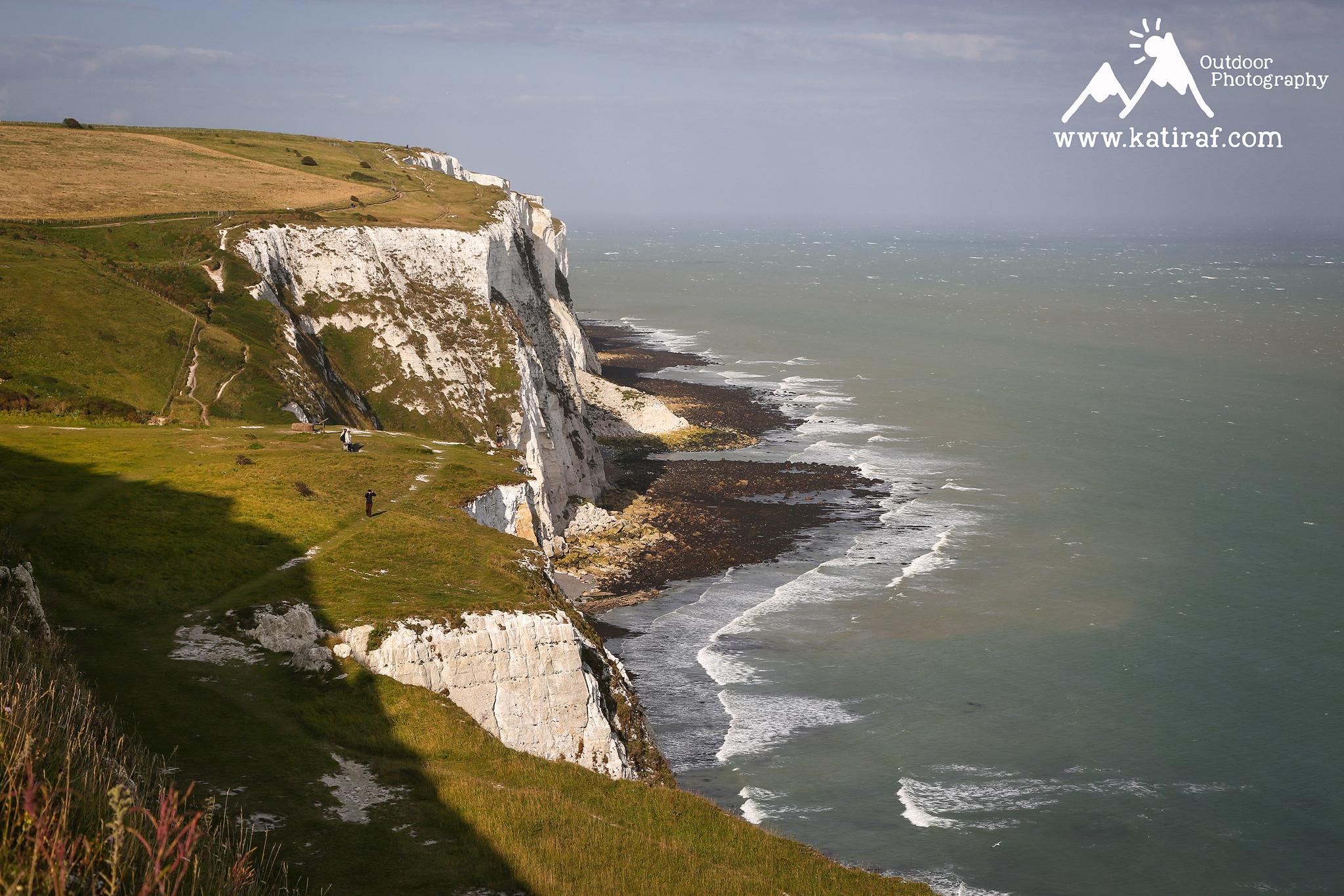 Białe klify Dover, Kent Anglia www.katiraf.com