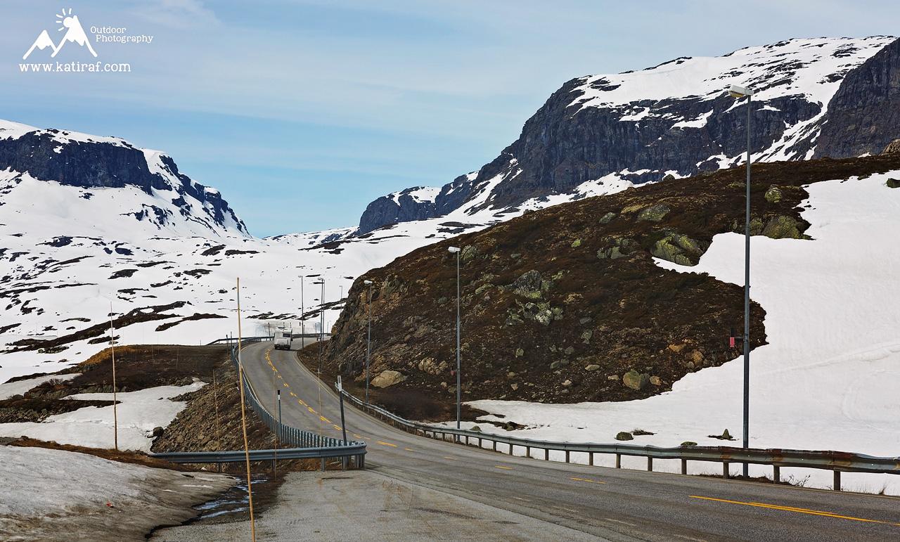 Droga E134, Haukeli, Norwegia (Maj 2016) www.katiraf.com