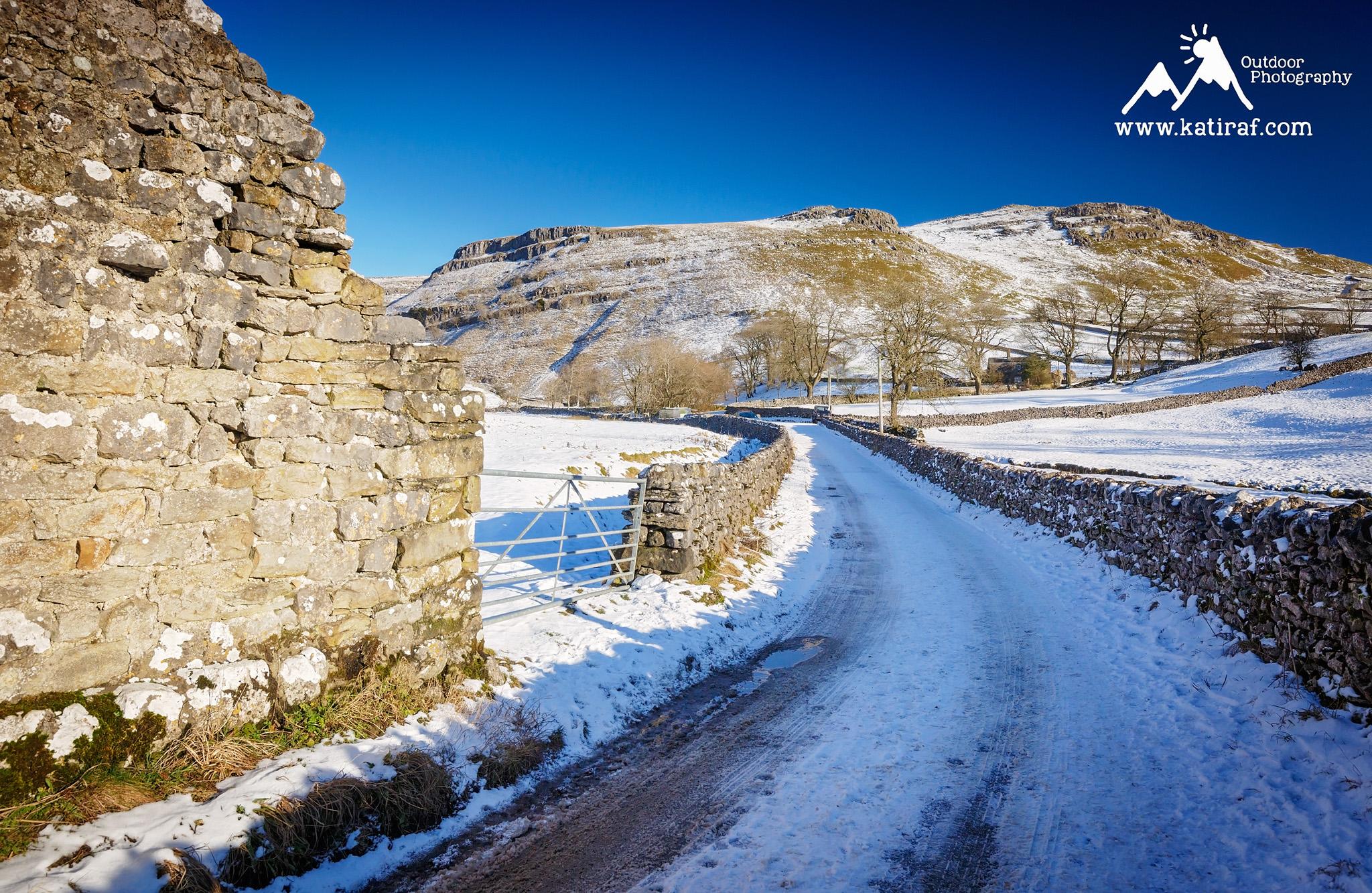 Wąwóz Gordale Scar, Yorkshire Dales, Anglia www.katiraf.com