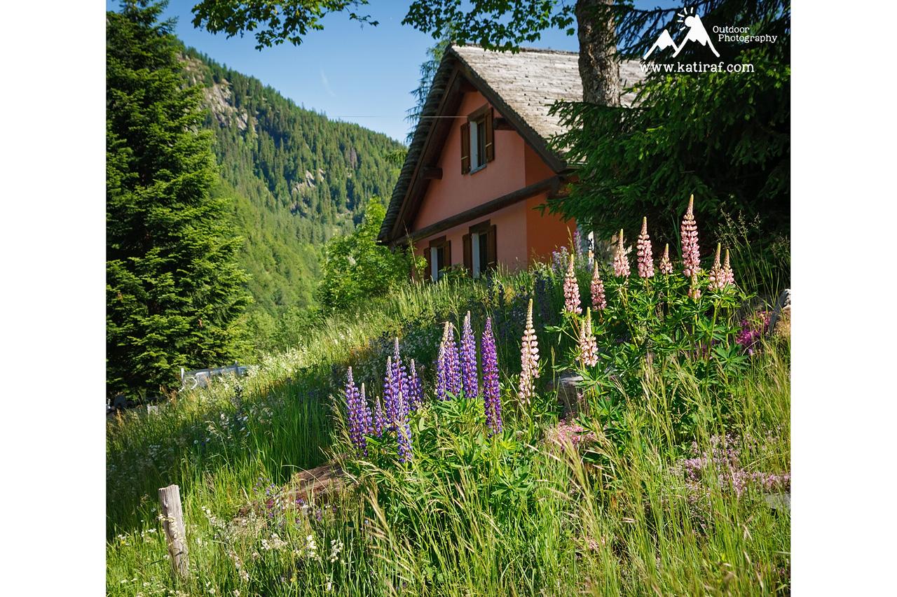 Kościółek w Mogno i wieś Fusio, kanton Ticino, Szwajcaria www.katiraf.com