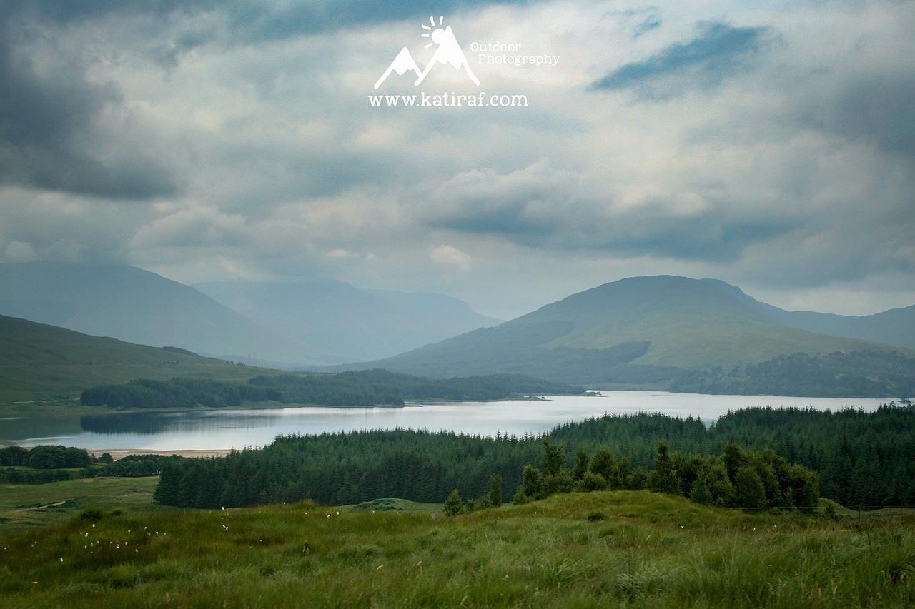 Punkt widokowy Loch Tulla, Szkocja, www.katiraf.com