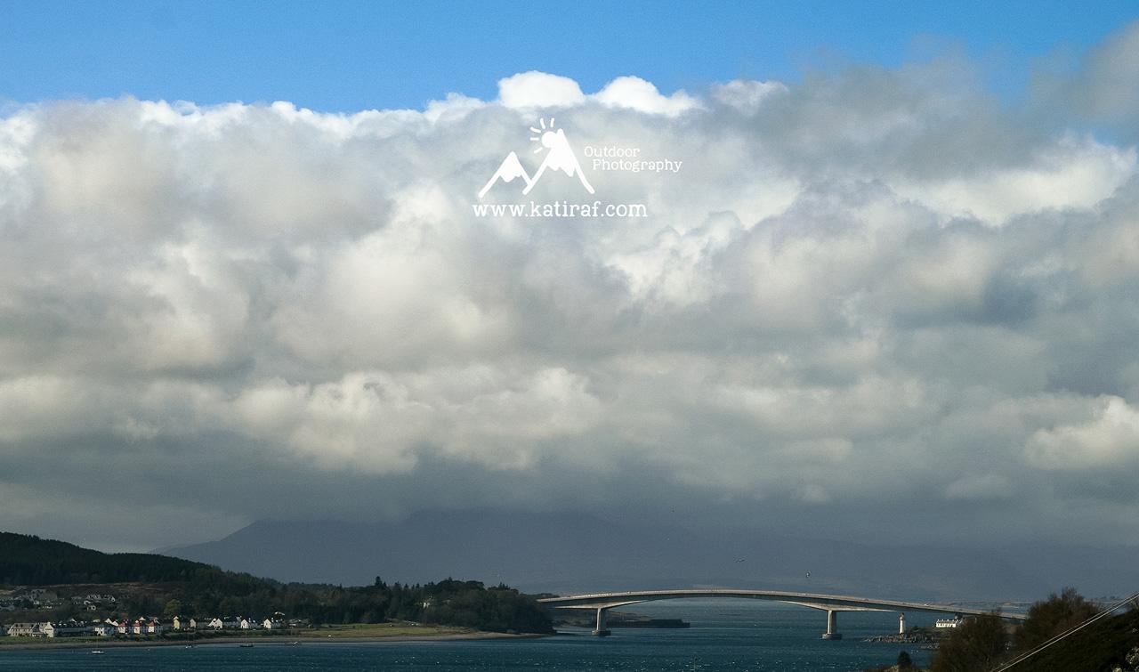 Most na Wyspę Skye, Szkocja, www.katiraf.com
