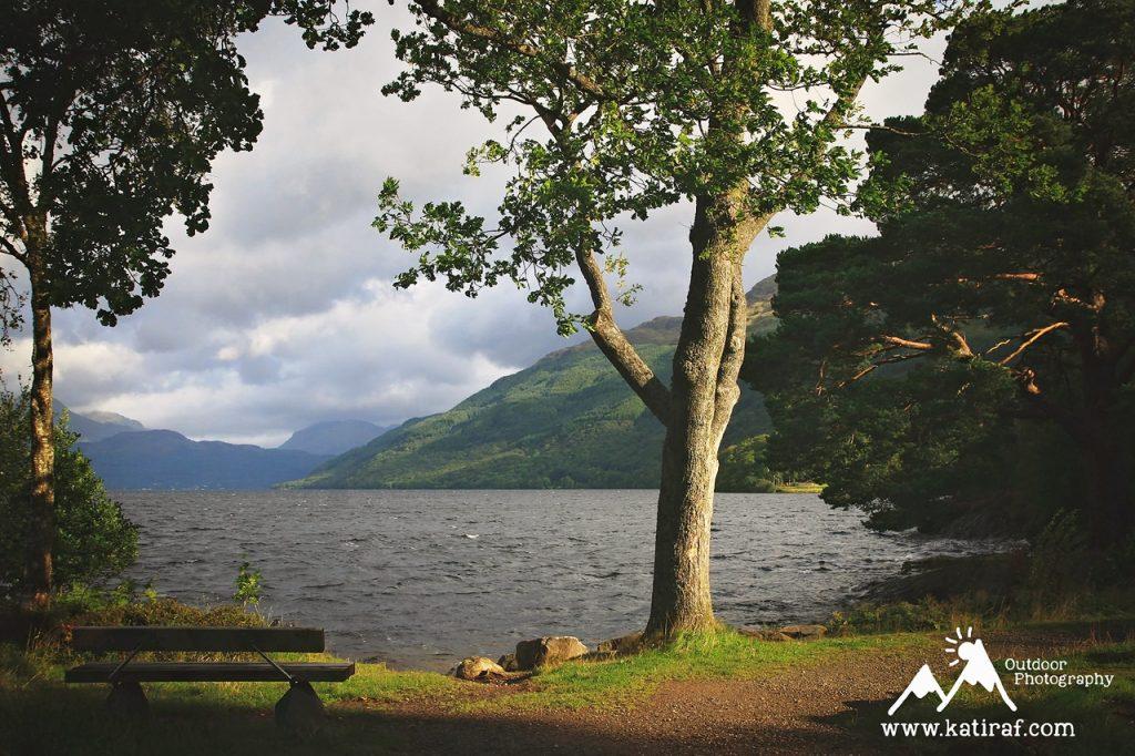 Jezioro Loch Lomond, Szkocja, www.katiraf.com