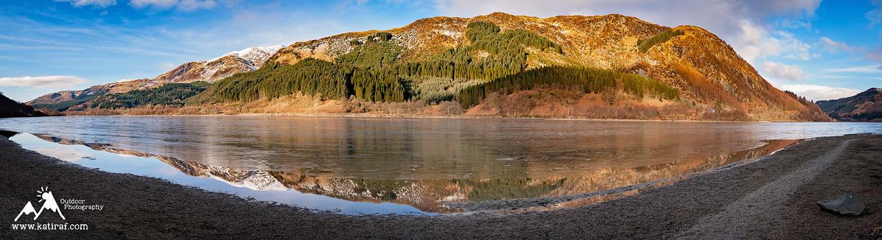 Jezioro Lubnaig, Szkocja, www.katiraf.com