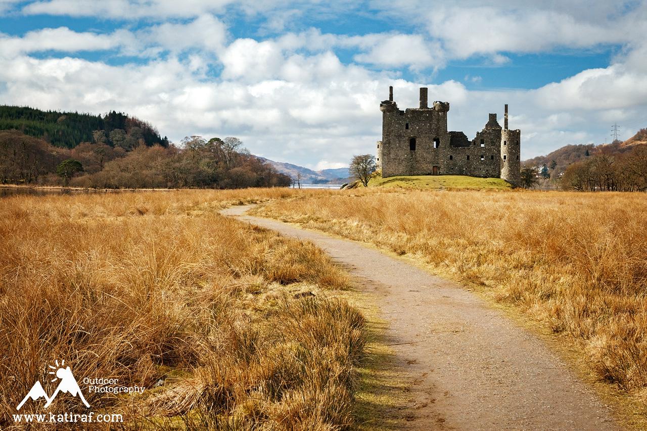Zamek Kilchurn, Szkocja www.katiraf.com