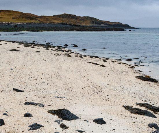 Plaża koralowa na Skye, Szkocja www.katiraf.com
