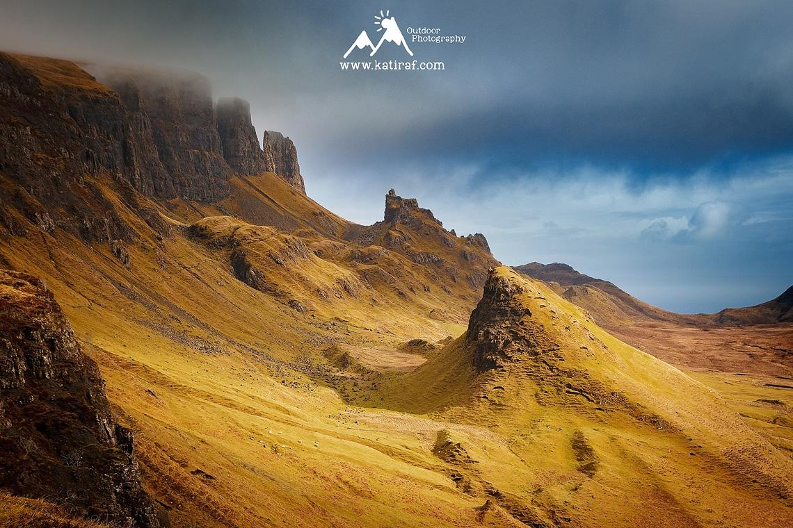 Wyspa Skye, Szkocja, Quiraing, www.katiraf.com