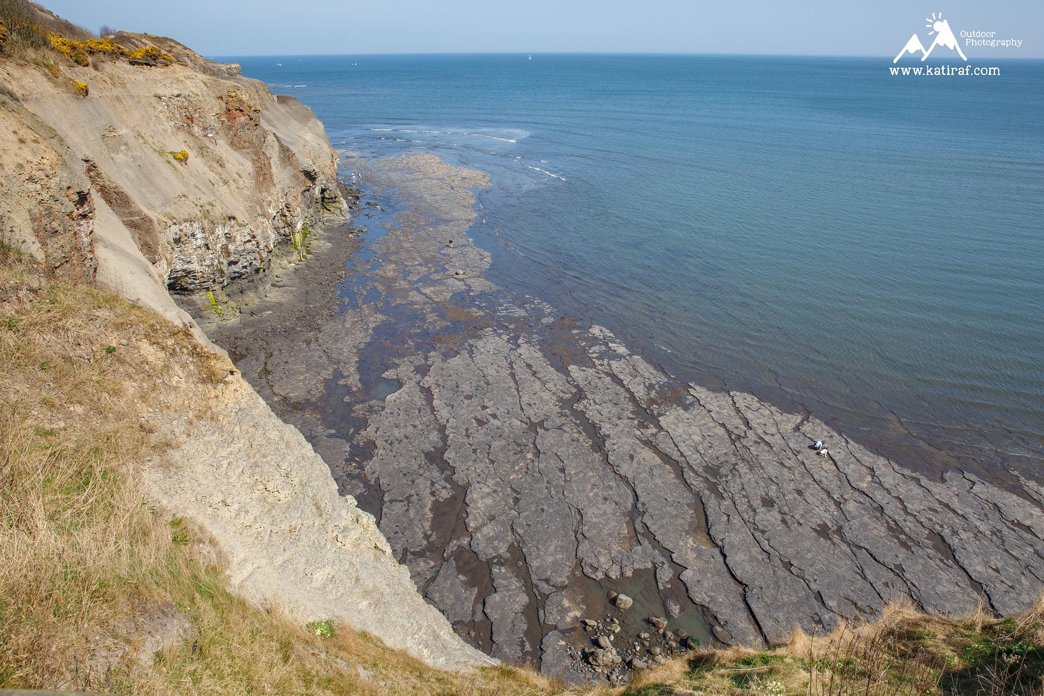 Wędrówka z Whitby do Runswick Bay, Yorkshire www.katiraf.com