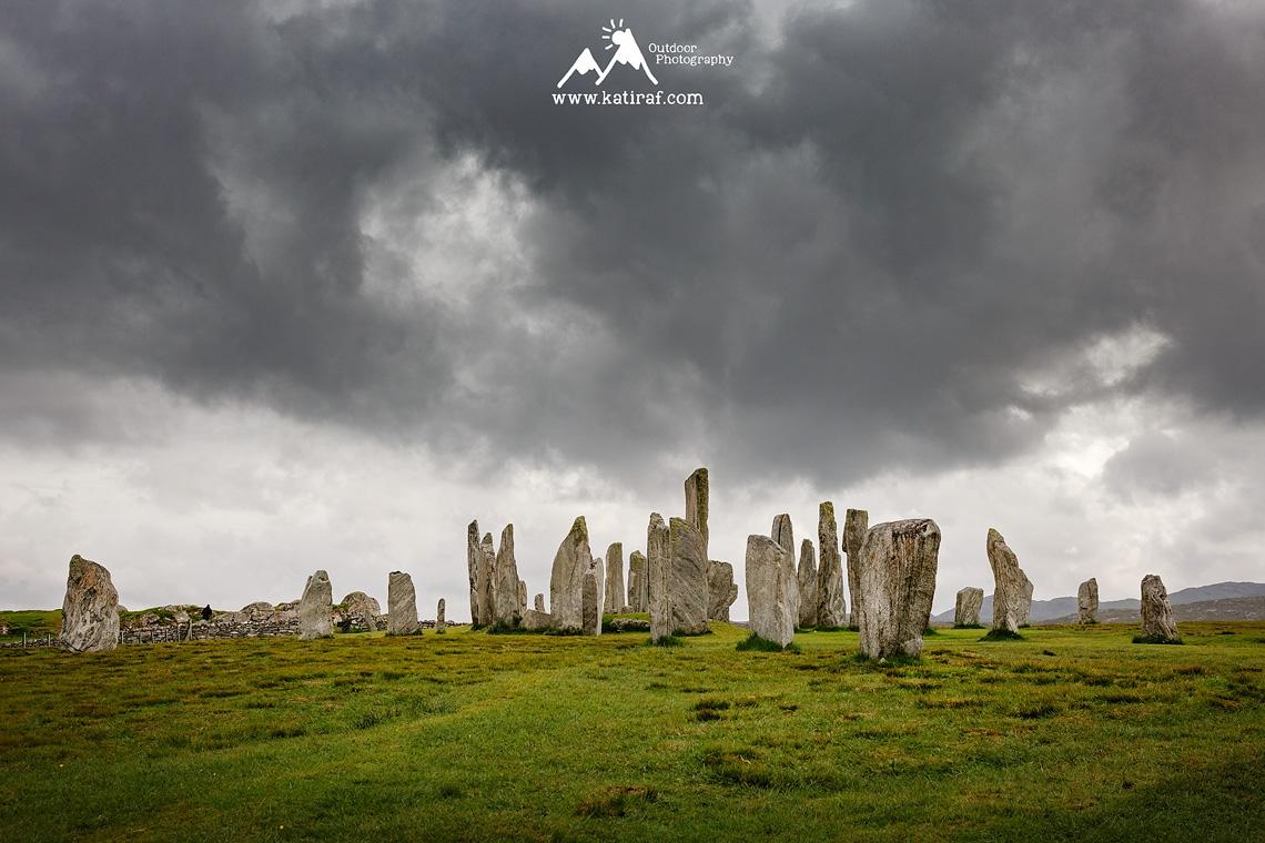 Kamienny krąg Callanish, Szkocja www.katiraf.com