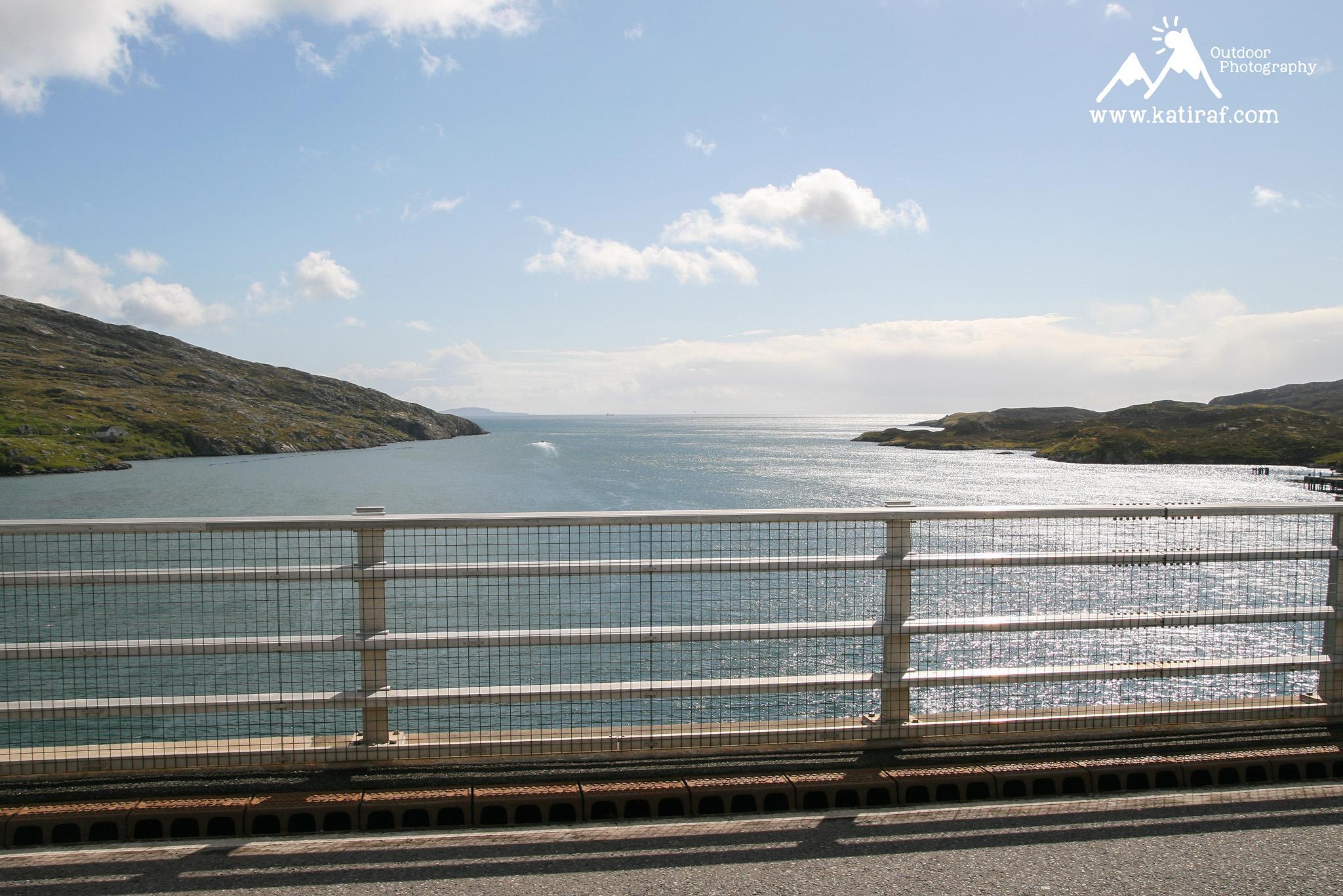 Hebrydy Zewnętrzne, Wyspa Scalpay, Wędrówka do latarni Eilean Glas, Szkocja, www.katiraf.com