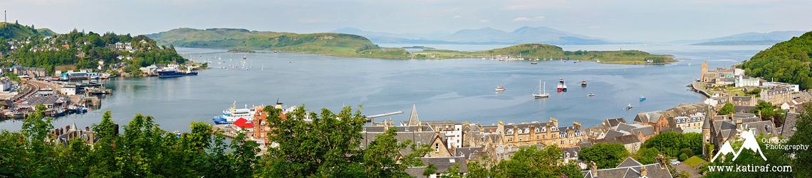Port w Oban, Szkocja, www.katiraf.com