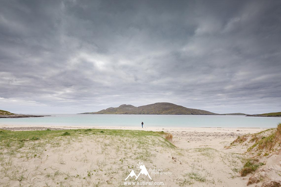 Wyspa Vatersay, Hebrydy Zewnętrzne, www.katiraf.com Szkocja