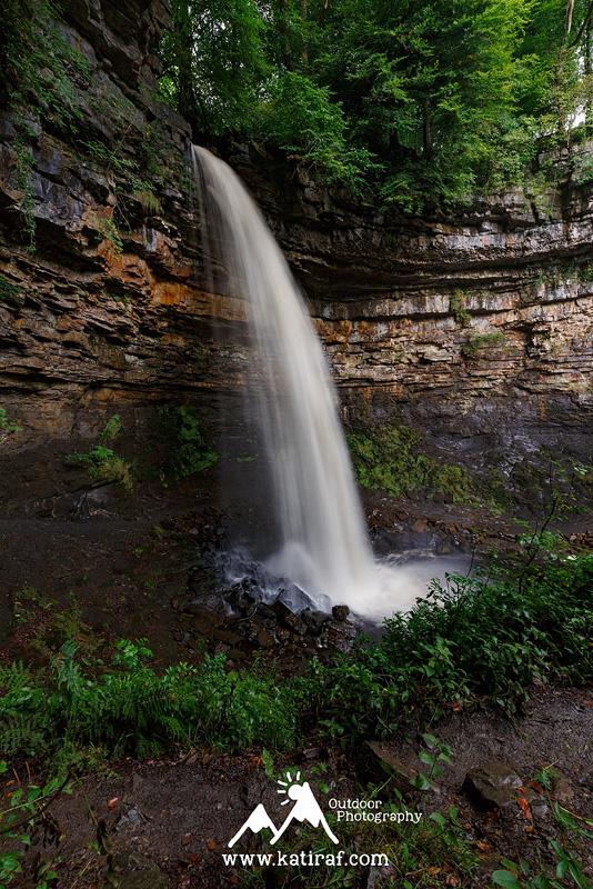 Wodospad Hardraw Force, Park Narodowy Yorkshire Dales, Anglia (Grudzień 2014) www.katiraf.com