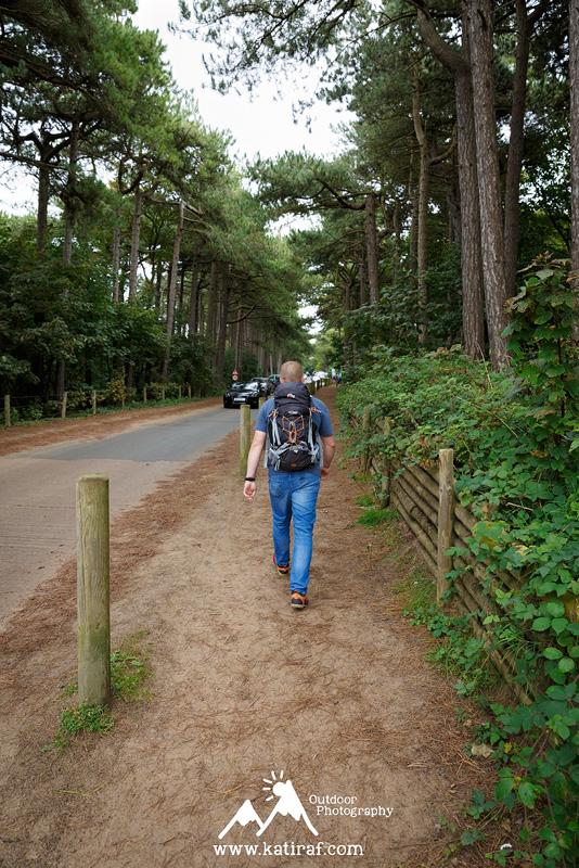 Plaża w Formby, rezerwat rudych wiewiórek, www.katiraf.com