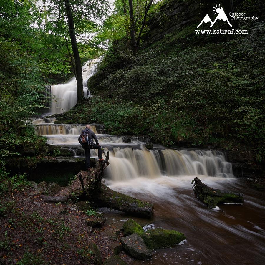 Wodospad Scaleber Force, Park Narodowy Yorkshire Dales, Anglia, www.katiraf.com
