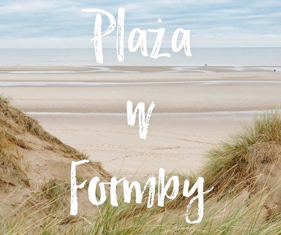Plaża w Formby, www.katiraf.com