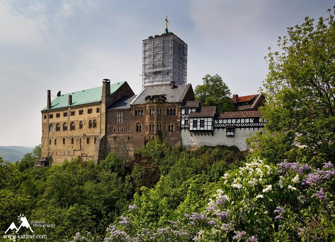 Zamek Wartburg, Niemcy www.katiraf.com