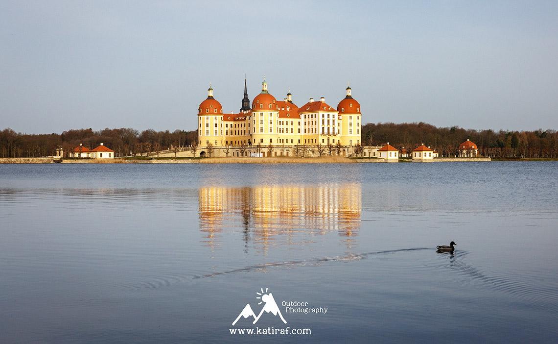 Pałac Moritzburg, Niemcy www.katiraf.com