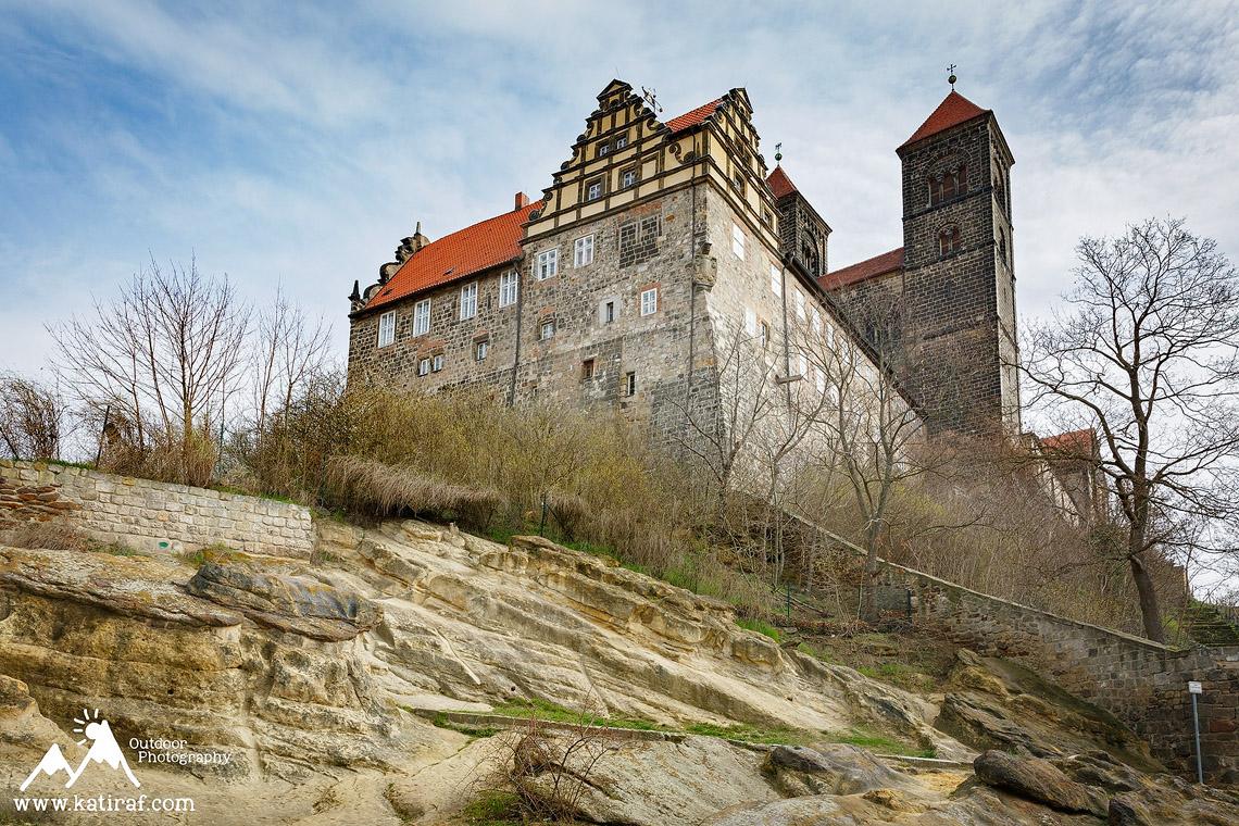 Miasteczko i zamek Quedlinburg, www.katiraf.com