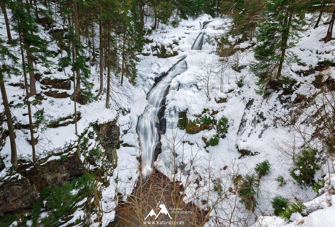 Wędrówka na wodospad Kamieńczyka, Szklarki i do Chatki Robaczka