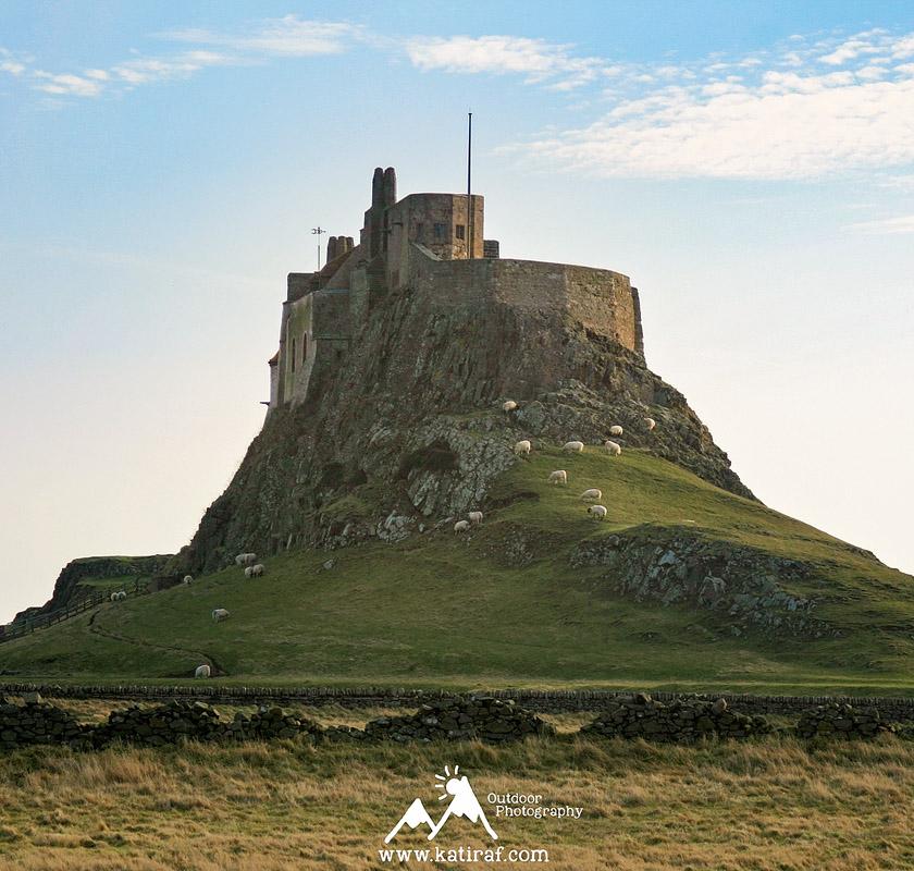 Co warto zobaczyć na wyspie Holy Island, Lindisfarne, hrabstwo Northumberland, Anglia www.katiraf.com
