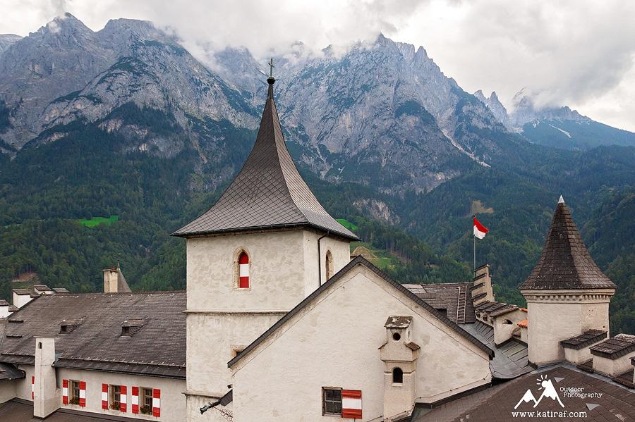 Werfen, jaskinie lodowe w Austrii Eisriesenwelt, www.katiraf.com