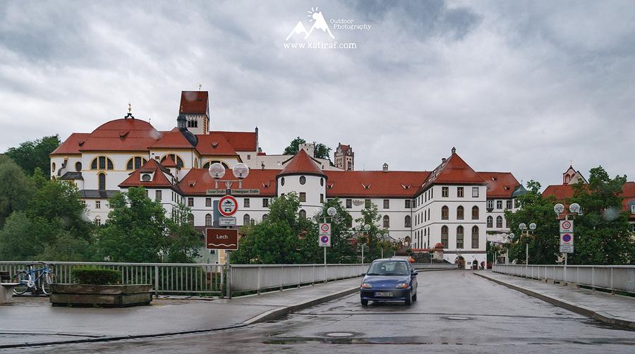 Schwangau. Podróż do Szwajcarii - początek i pierwsze wrażenia, www.katiraf.com