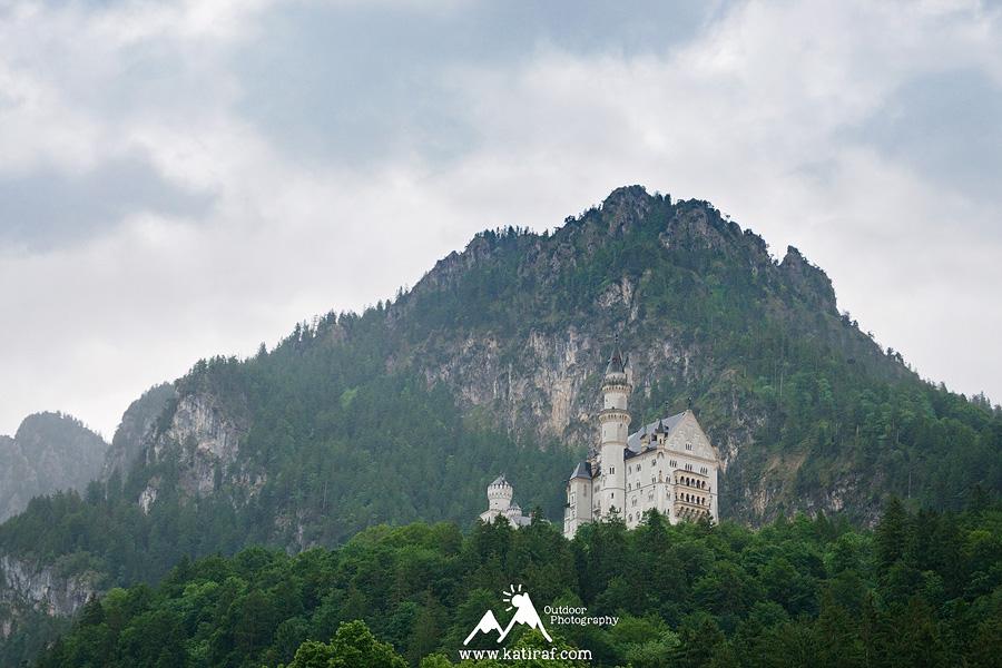 Neuschwainstein. Podróż do Szwajcarii - początek i pierwsze wrażenia, www.katiraf.com