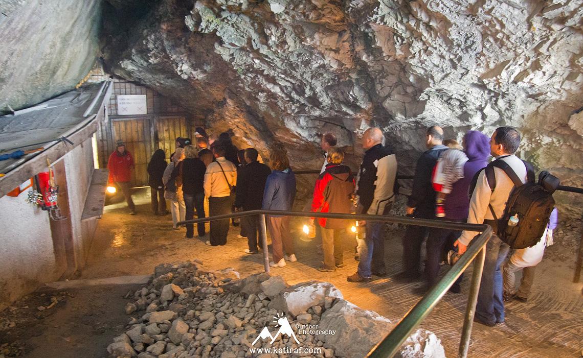 Werfen, jaskinia lodowa w Austrii Eisriesenwelt, www.katiraf.com