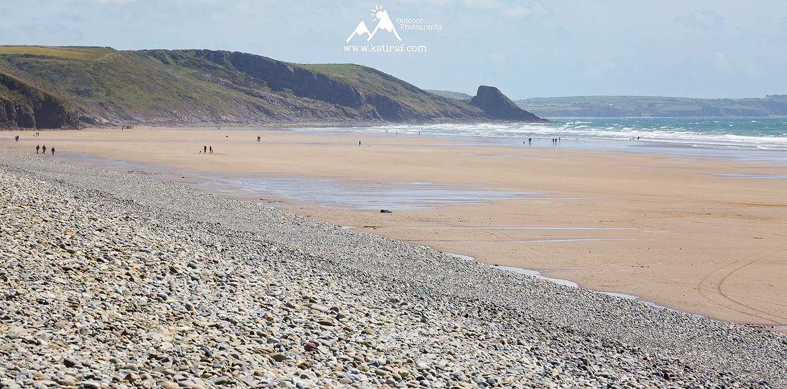 Plaża Newgale Sands, Pembrokeshire, Południowa Walia www.katiraf.com