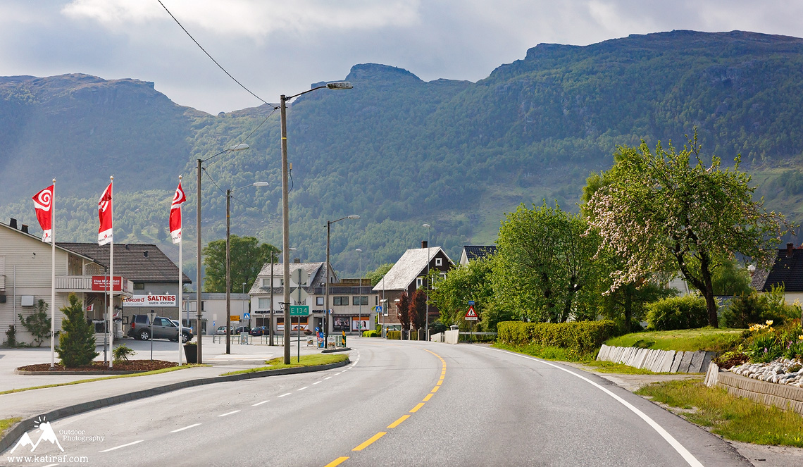 Droga z Oslo do Stavanger i kemping w Stavanger