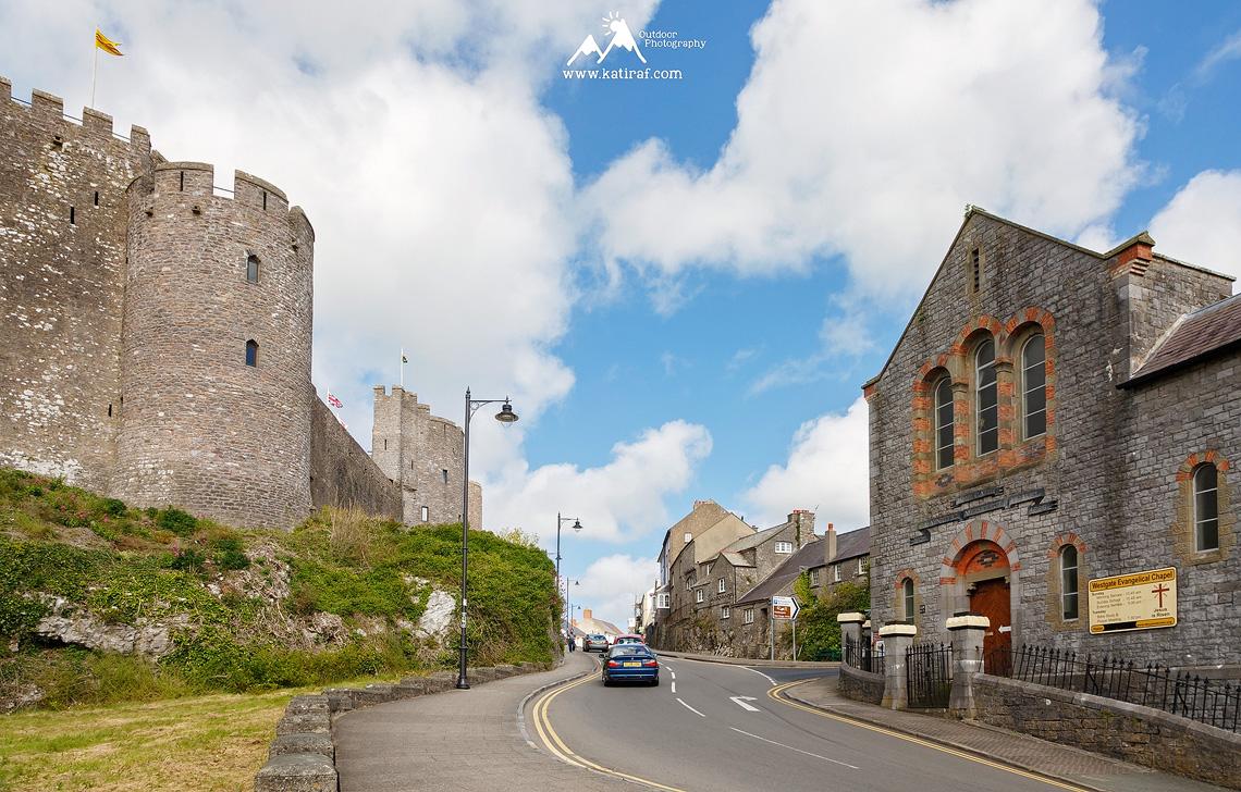 Zamek Pembroke, Pembrokeshire, www.katiraf.com