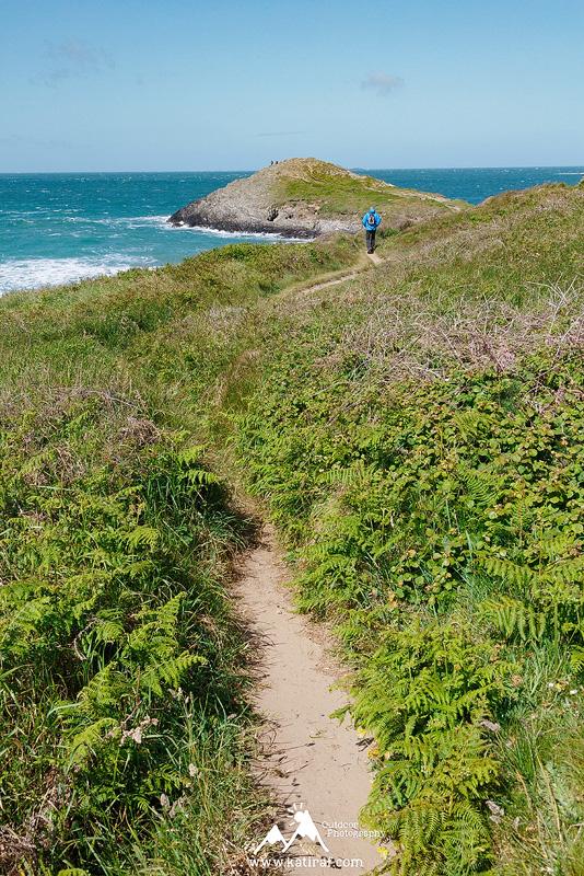 Zatoka Whitesands Bay, Pembrokeshire, Południowa Walia www.katiraf.com