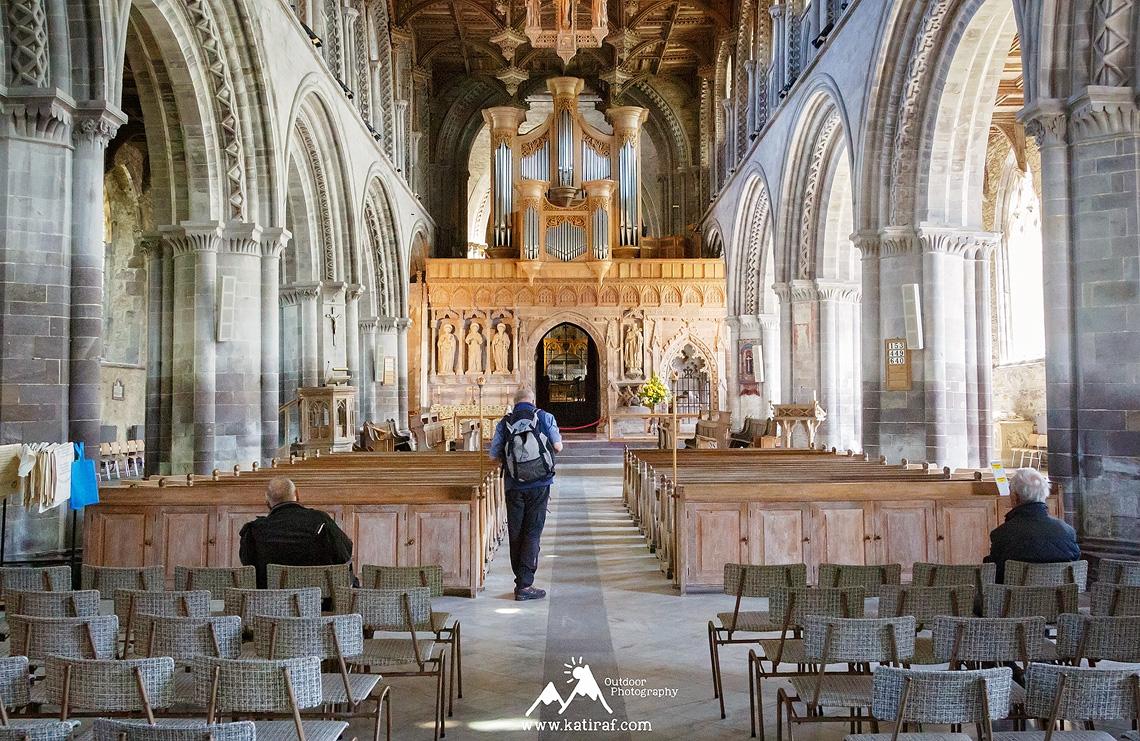 Katedra St Davids, Pembrokeshire, Południowa Walia, www.katiraf.com