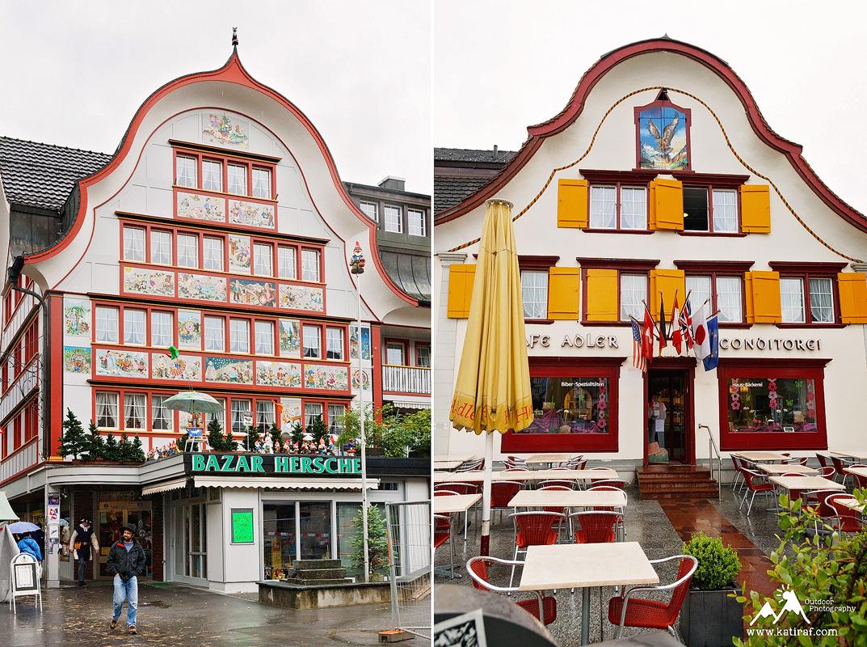 Wieś Appenzell i kemping w Kau, www.katiraf.com