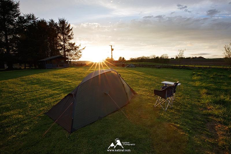 Kemping Ythan Valley Camping w Aberdeenshire, Szkocja www.katiraf.com