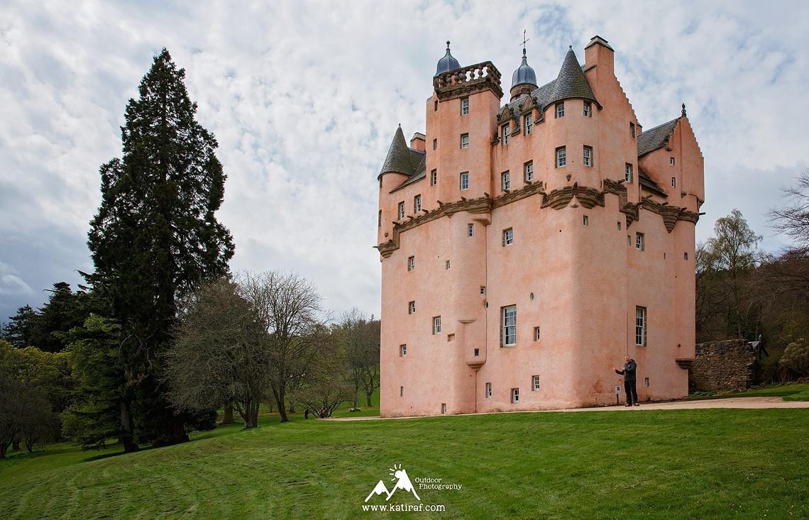 Zamek Craigievair i zamek Fraser, Aberdeenshire, Szkocja www.katiraf.com