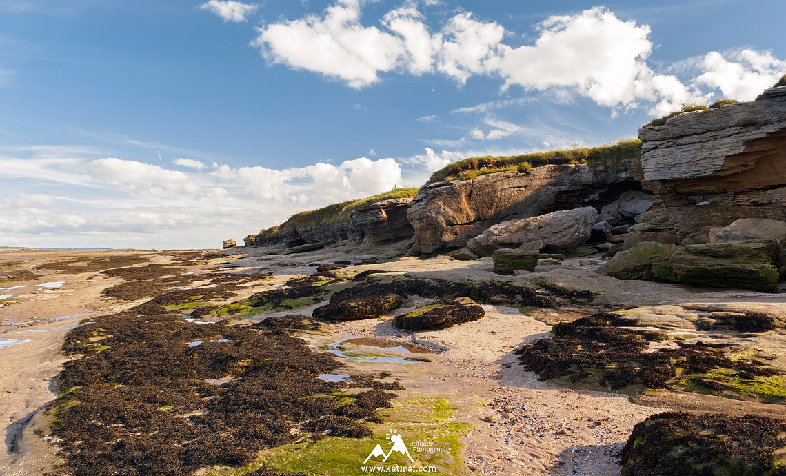 Wędrówka na Hilbre Islands, Merseyside, Anglia www.katiraf.com