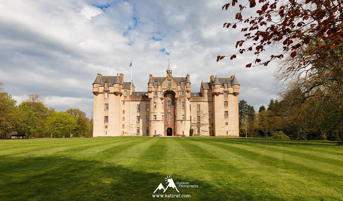 Fyvie Castle, Szkocja, www.katiraf.com