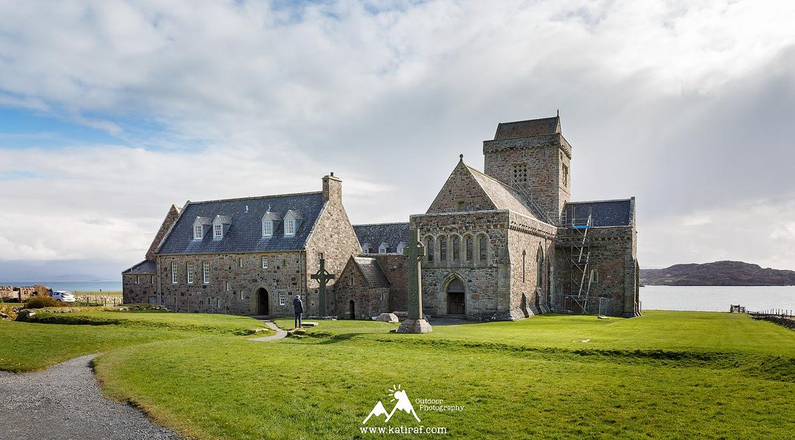 Iona Abbey, Wyspa Iona, Szkocja www.katiraf.com