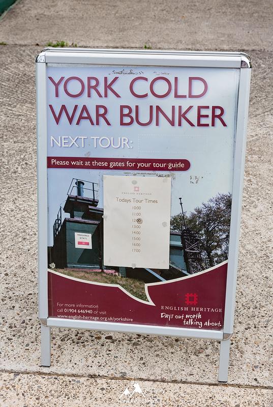 Bunkier przeciwatomowy w Yorku, English Heritage