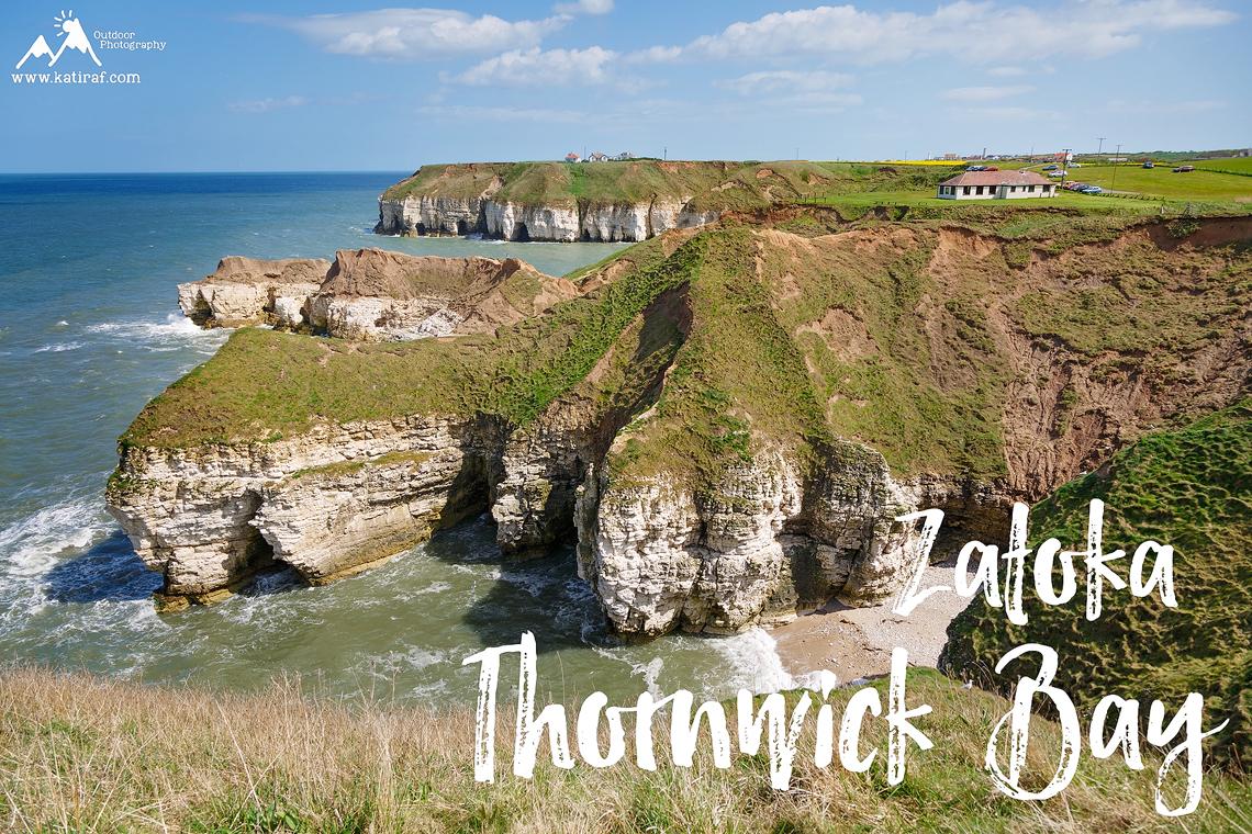 Co zwiedzić w Yorkshire? Klify Flamborough Head, www.katiraf.com