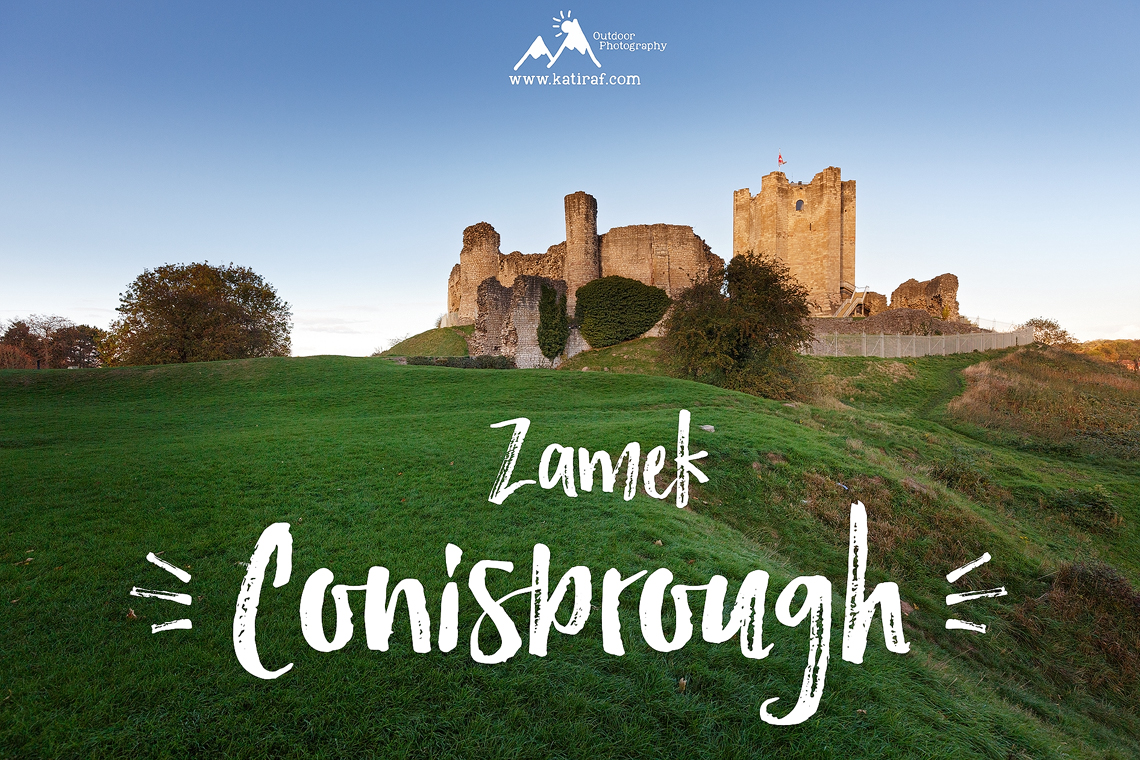 Zamek Conisbrough, South Yorkshire, Anglia www.katiraf.com