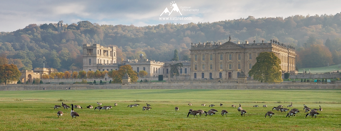 Ogrody i wiejska rezydencja Chatsworth House, Peak District