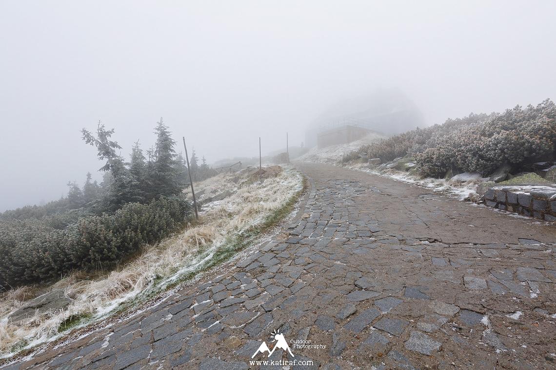 Jesienna wędrówka na Śnieżne Kotły, Karkonosze, www.katiraf.com