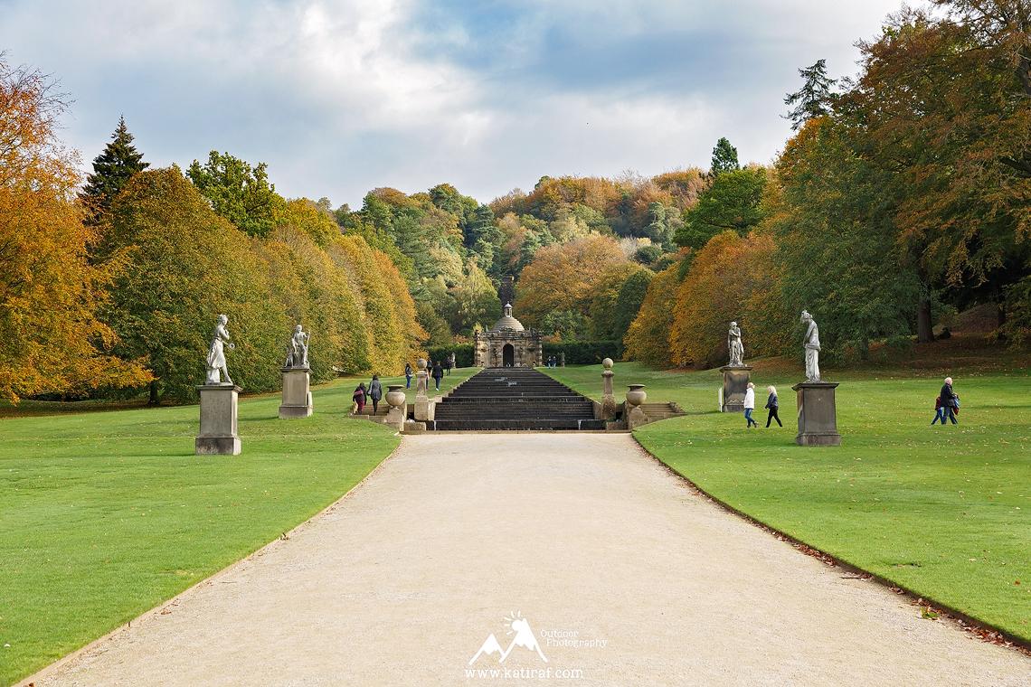 Ogrody i wiejska rezydencja Chatsworth House, Peak District